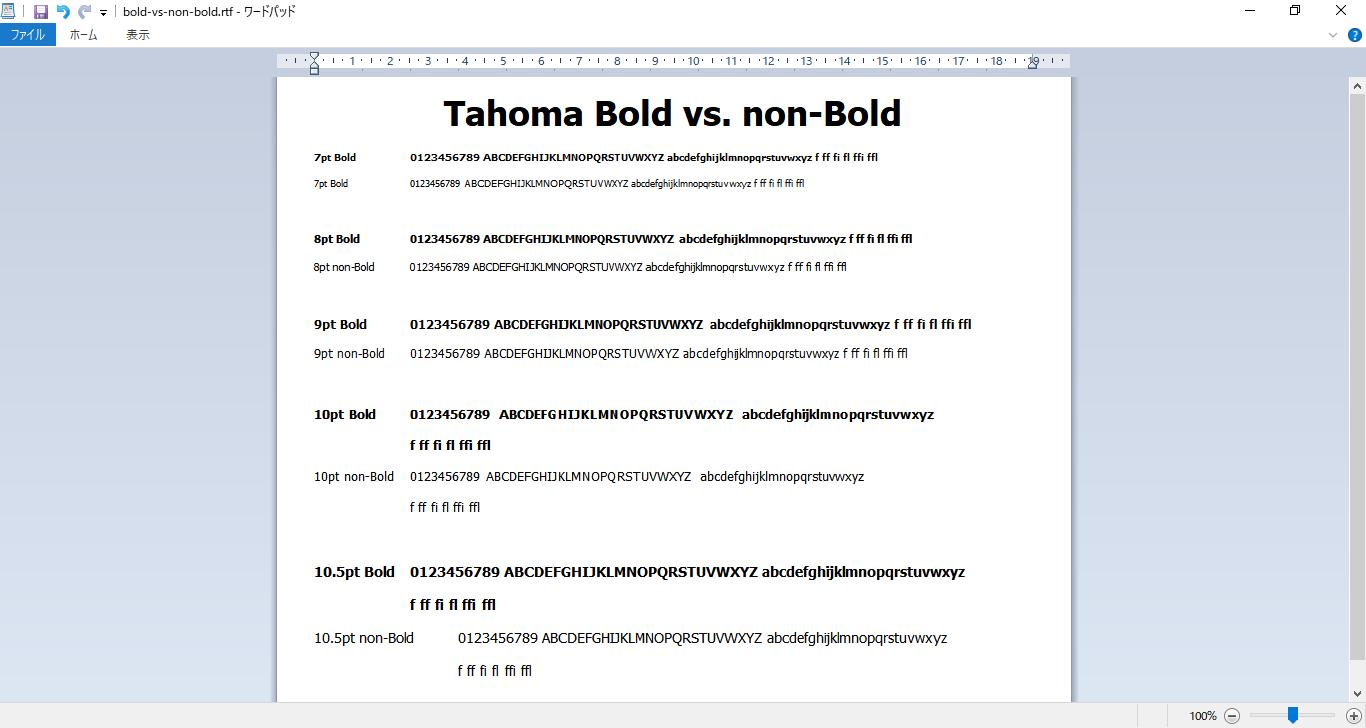 Bold Font Windows 10