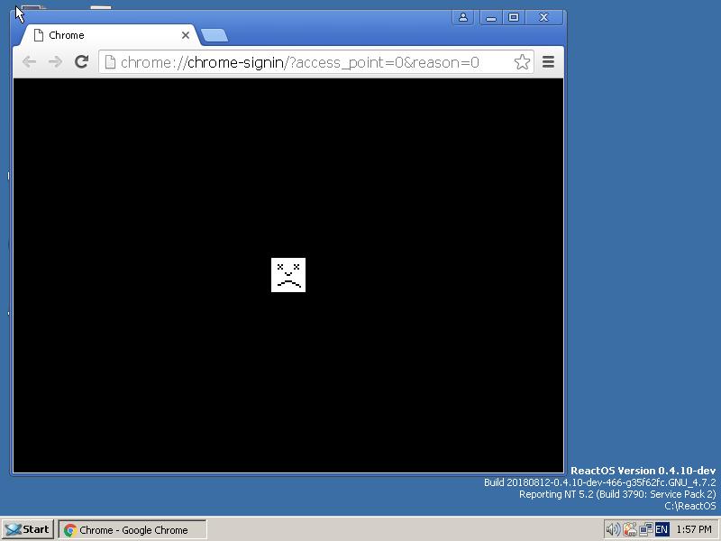 CORE-14926] Regression: Google Chrome 49 0 2623 112 can no
