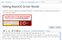 reCAPTCHA error while editing ReactOS Wiki page.PNG